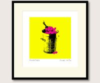 Pistols Flowers in the Dustbin print