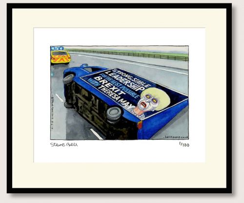 Steve Bell Strong and Stable Theresa print