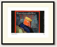 Steve Bell Trump Time Print