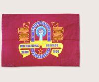International Brigade British Battalion Banner tea towel