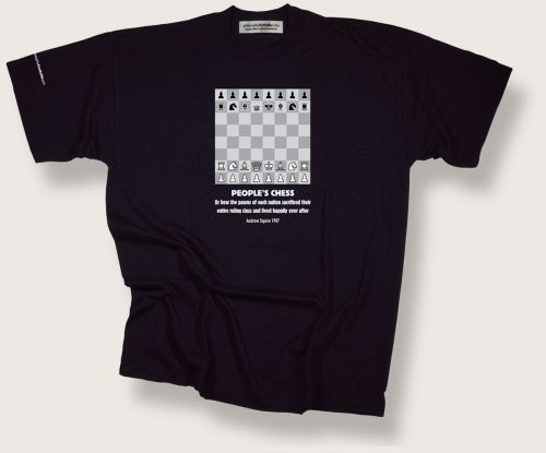 Peoples Chess t-shirt
