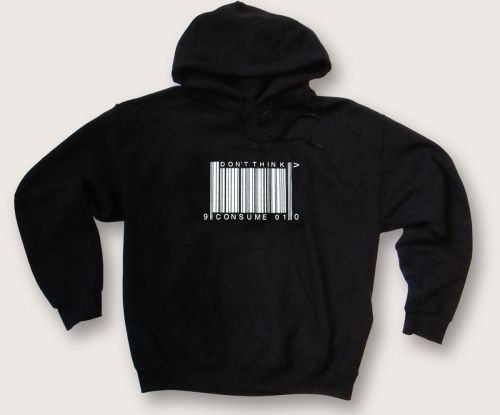 Dont Think Consume hoodie