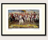 Steve Bell Royal Charge framed print