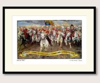 Steve Bell Royal Charge framed print