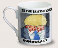 Steve Bell coronavirus crisis first anniversary mug