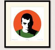 Ian Dury portrait print