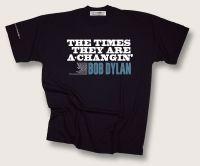 Bob Dylan A-Changin T-shirt (black)