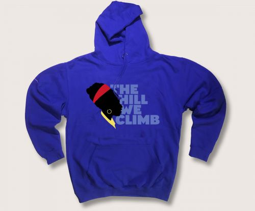 The Hill We Climb hoodie