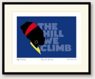 The Hill We Climb print