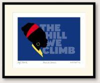 The Hill We Climb print