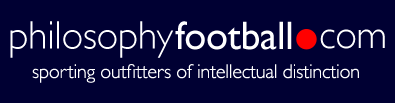 Philosophy Football - sporting outfitters of intellectual distinction