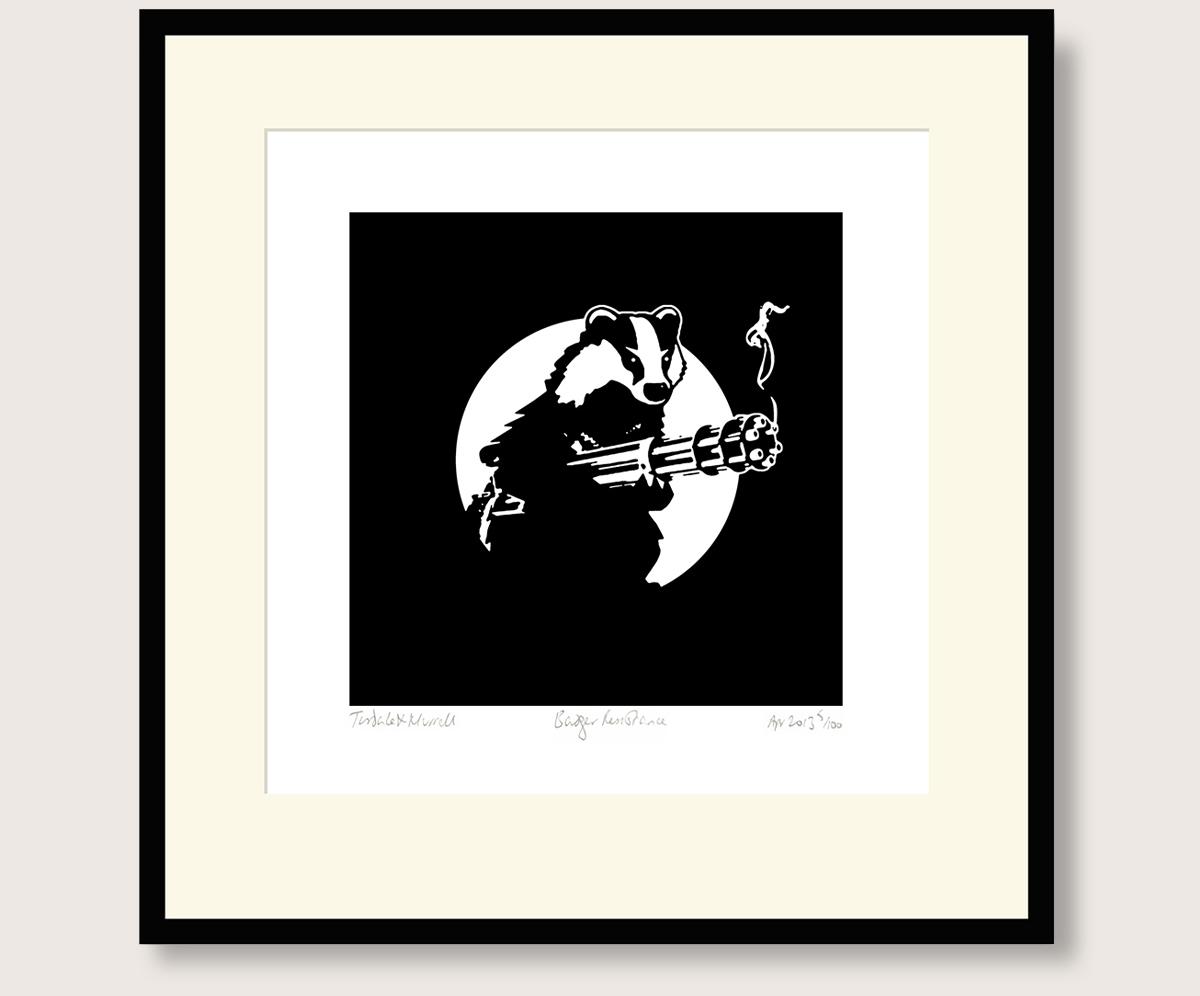 badger resistance print philosophy football